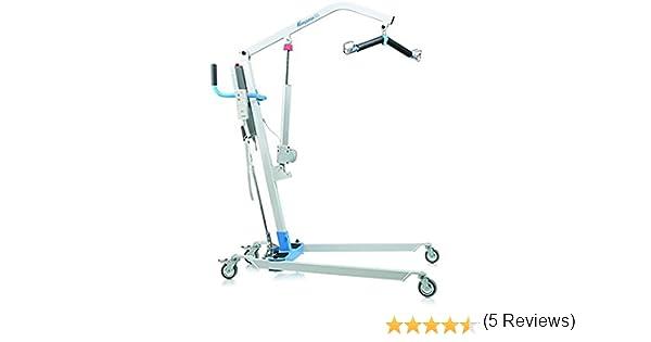 Grúa eléctrica para elevación y traslado de pacientes y mayores ...