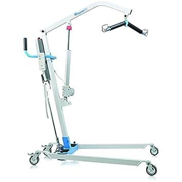 Grúa eléctrica para elevación y traslado de pacientes y mayores hasta kg