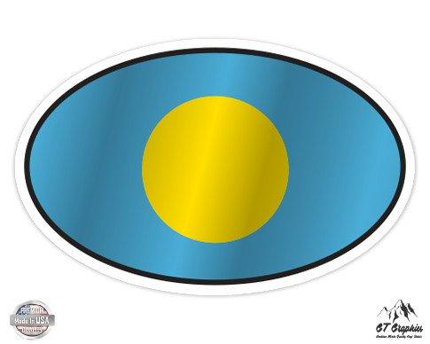 Palau Flag Oval - 12