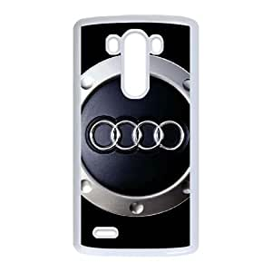 LG G3 Cell Phone Case White Audi as a gift P4825278