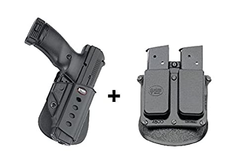 Amazoncom Fobus Concealed Carry Paddle Holster 4500 Double