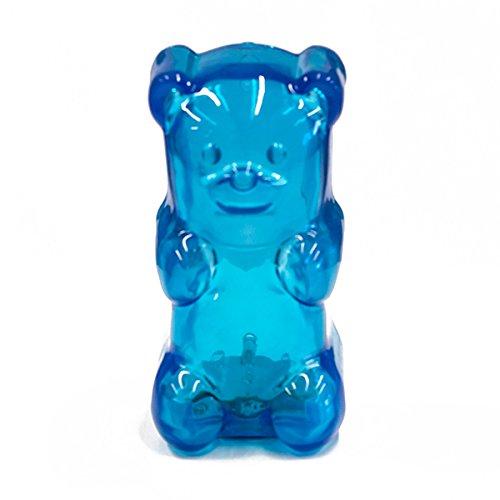 パドルビー Gummy グミみたいな質感の熊のライト グミベアランプ ブルー LPGUM08 B00C1OER5W ブルー ブルー