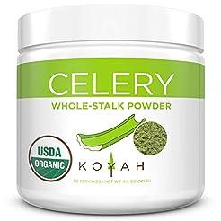 NEW - KOYAH - Organic USA Grown Celery P...