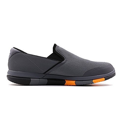 4f90b18cd558 Skechers Men s Go Flex Charcoal Orange Walking Shoes (11 UK India ...