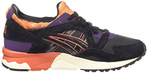 Asics lyte V Baskets Adulte black Noir Gel Mixte Basses black 9090 SrqwS5Z