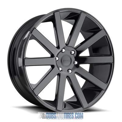 26x10 DUB Wheels Shot Calla 6x139.7 30 Offset 78.1 Centerbore/Hub - Gloss Black [Authorized Dealer] S219260077+30