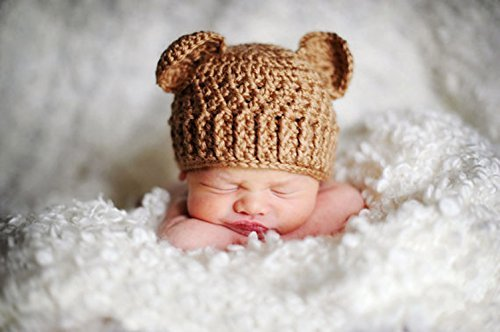660622da0 Image Unavailable. Image not available for. Color: Newborn Bear Cub Hat |  Newborn bear beanie | Baby ...