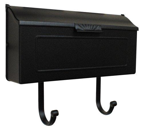 Special Lite Products SHH-1006-BLK Horizon Horizontal Mailbox, Black by Special Lite Products Company, Inc.