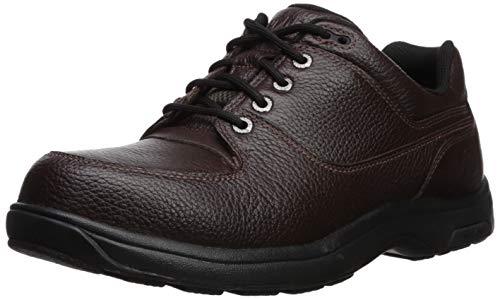 Brown Milled Leather - Dunham Men's Windsor, Brown Waterproof Milled Leather, 9.5 Medium