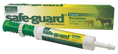Safeguard Animal Health International ING225 Horse Dewormer Paste, Apple-Cinnamon, 25-gm. - Quantity 12 ()
