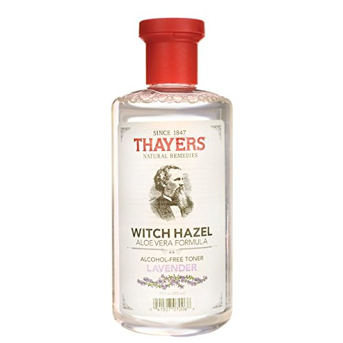 Thayers Natural Remedies Witch Hazel Lavendar - Alcohol Free 12 fl oz (355 ml) Liquid (Free Gentle Alcohol Toner)