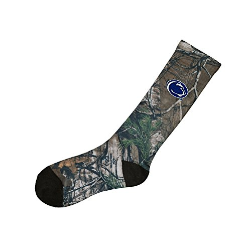 Penn State Nittany Lions NCAA Adult Men's Realtree Camouflage Camo 10-13 (Penn State Camo)