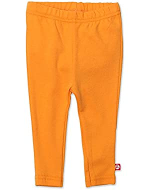 Baby Skinny Leggings Orange 6 Months