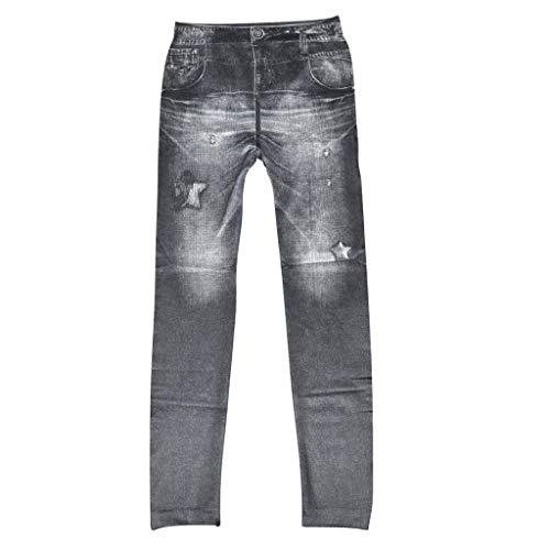 Mujer Leggings Rasgados Ajustados Bolsillos De Schwarz Vaqueros Mujeres Jeggings Botón Delanteros Pantalones Elásticos Casuales YZwnUTpxq