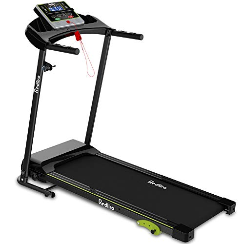 REDLIRO Folding Treadmill for Home Jogging/Walking with Incline Portable Space Saving Fitness Running Electric Indoor…