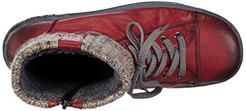 Rouge Graphite Rieker De Z8753 35 Sport Dames Chaussures Hautes vin Y18Zaax