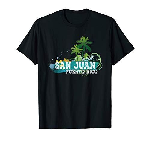 - San Juan Puerto Rico T-shirt Beach Vacation Gift