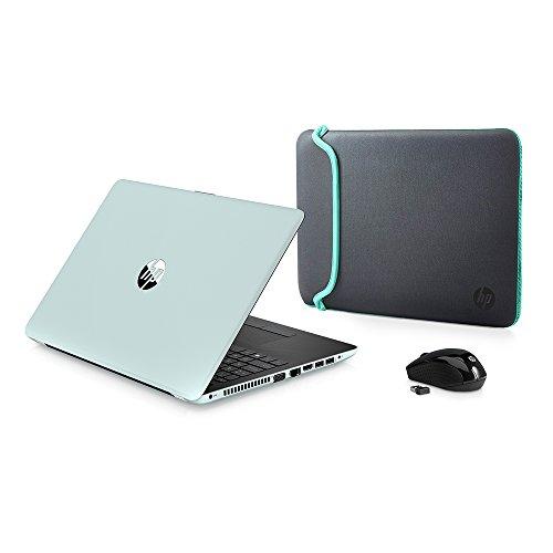 2018 Newest Premium HP High Performance Laptop PC 15.6-inch HD+ Display AMD E2-9000e Processor 4GB DDR4 RAM 500GB HDD WIFI DVD-RW HDMI Bluetooth Webcam Sleeve&Mouse Windows 10-Mint