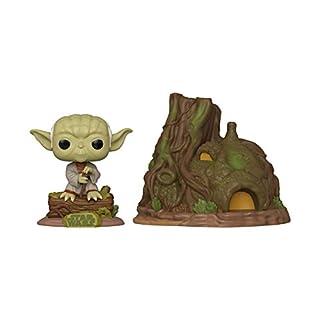 Funko Pop! Town: Star Wars - Yoda's Hut, Multicolor