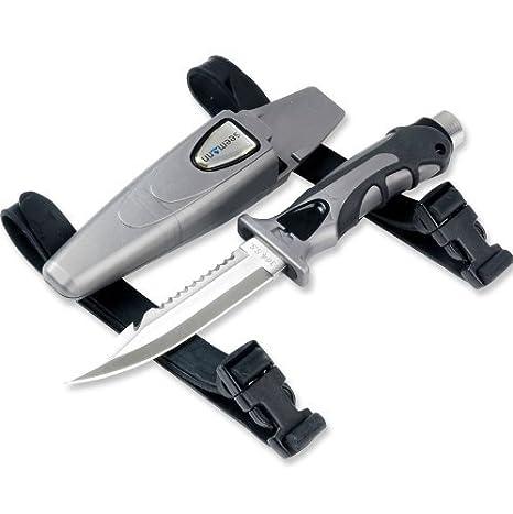 Subgear SK-21 - Cuchillo para buceo (acero inoxidable ...