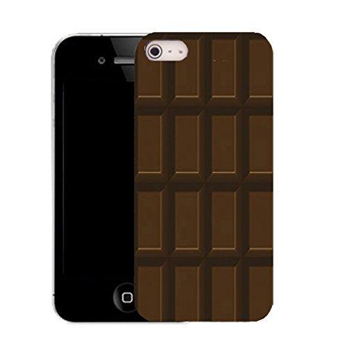 Neue Silikon-Schutzhülle für iPhone 5°C, Schokoladentafel, aus Silikon, inkl. Eingabestift