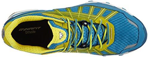 DYNAFIT Ms Pantera S, Scarpe da Trail Running Uomo Blu (Blau (Davos/Salewa Yellow 5185))