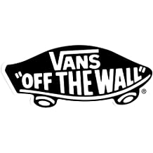 Vans Shoes Off The Wall Sticker - 15cm wide approx for Skateboards, BMX, Snowboard, Surf, Streetwear