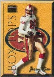 1999 SkyBox Premium Box Tops #12BT Jerry Rice Near Mint/Mint