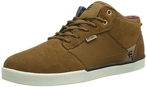 Etnies Men Jefferson Mid SMU Skateboarding Shoes Brown