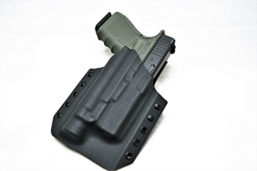 (Code 4 Defense Light Bearing Kydex Gun Holster for Glock 19 TLR-1- Glock 19 TLR-1s- Glock 19 TLR-1 HL-)