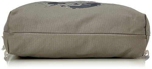Adelheid Fabelhaft Einkaufstasche - Borsa Donna, Grigio (Silbergrau), 10x39x44 cm (B x H T)
