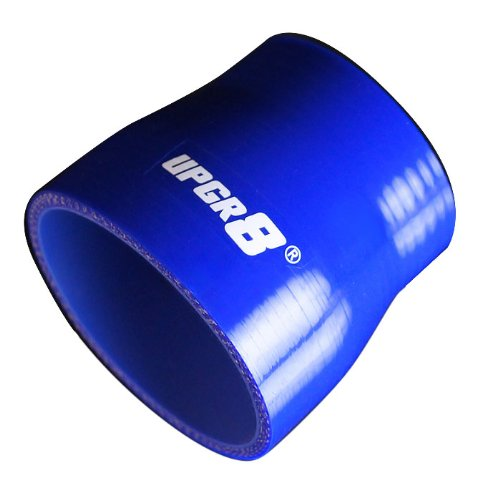 Upgr8 Universal 4-Ply High Performance Straight Reducer Coupler Silicone Hose (2.5