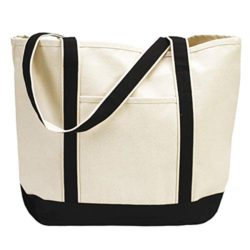 Heavy Duty Large Canvas Tote Bag 22
