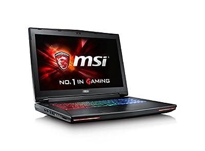 "MSI GT72VR Dominator Pro-257 17.3"" 120Hz 5ms Display Hard Core Gaming Laptop GTX 1070 i7-6700HQ 16GB 128GB M.2 SATA + 1TB Windows 10 VR Ready"