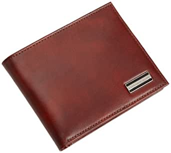 Geoffrey Beene Men's Hand Tipped Passcase Billfold Wallet,Tan,One Size
