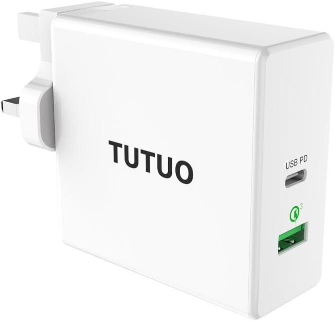 Tutuo 60w Usb C Netzteil Pd Ladegerät Quick Charge Elektronik