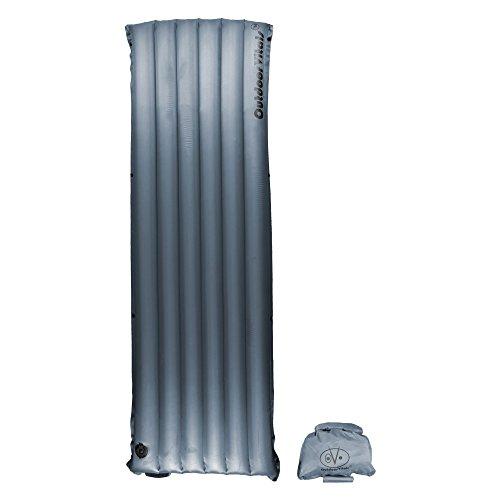 Cheap Outdoor Vitals Ultralight Sleeping Pad (Charcoal (Insulated), Regular)
