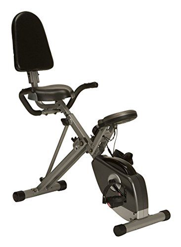 IRONMAN Exerpeutic 400XL Folding Recumbent Bike
