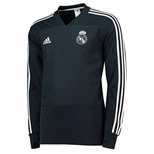 adidas 2018-2019 Real Madrid Training Top (Dark Grey)