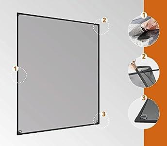 windhager insektenschutz magnetfenster magnet rahmen f r fenster fliegengitter m ckengitter test. Black Bedroom Furniture Sets. Home Design Ideas