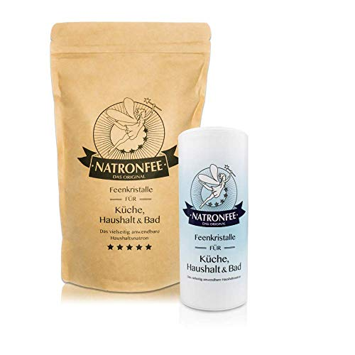 Natron in Lebensmittelqualität E500 (ii) - Natrium Pulver zum Backen, Kochen und Putzen. Frei von Aluminium