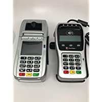First Data FD130 EMV with Wells 350, FD35 EMV with Wells 350 and Stand Bundle