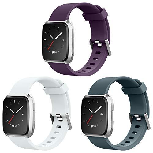 AIUNIT Bands Compatible for Fitbit Versa Smart Watch, Access