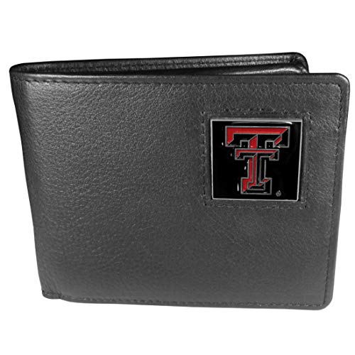 NCAA Texas Tech Red Raiders Leather Bi-fold Wallet