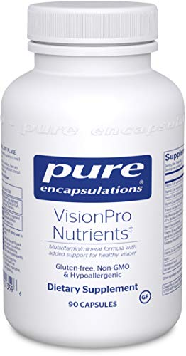 Pure Encapsulations - VisionPro Nutrients - Hypoallergenic Multivitamin/Mineral Complex for Maintaining Healthy Vision* - 90 Capsules