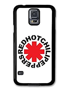 Red Hot Chili Peppers Rock Band RHCP Red Logo case for Samsung Galaxy S5 A5581 by ruishername