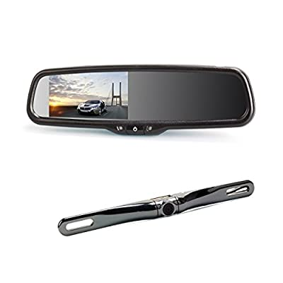 AUTO-VOX Rearview Mirror from The Rear View Camera Center