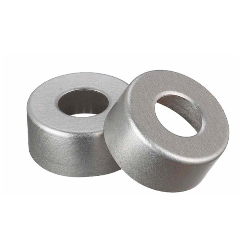 Wheaton 224177-01 Natural Aluminum Open Top Unlined Seal, 13mm OD (Case of ()