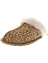Womens Scuffette II Idyllwild Slipper, Chestnut, Size 11