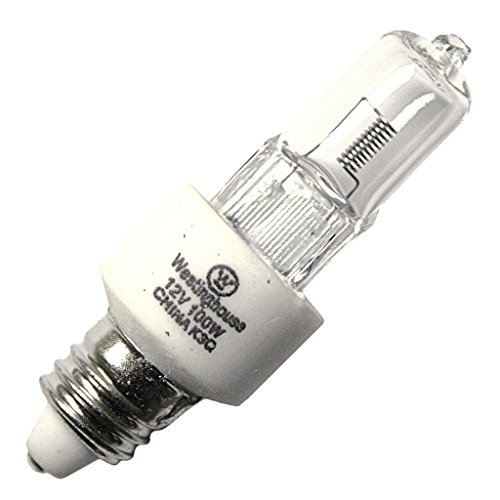 Westinghouse 04983 - 100T4Q/E11/12V Screw Base Single Ended Halogen Light Bulb - E11 Base Westinghouse Light Bulb